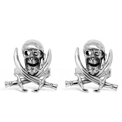 The Pirate Skull Cufflinks