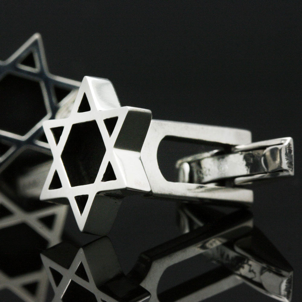 The Star of David Cufflinks