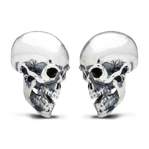 The Face-Off Skull Cufflinks