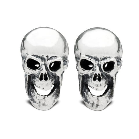 The Frontal Skull Cufflinks