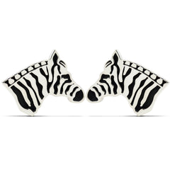 The Wild Zebra Cufflinks