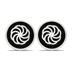 The Eternity Wheel Cufflinks