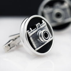 The Retro Camera Cufflinks