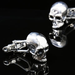 The Skull and Bone Cufflinks