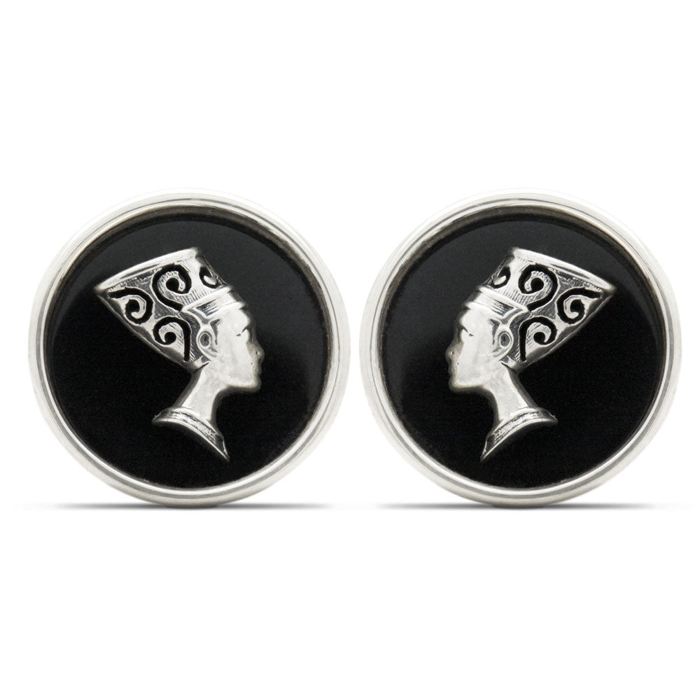 The Nefertiti Queen Cufflinks
