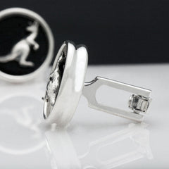 The Curious Kangaroo Cufflinks