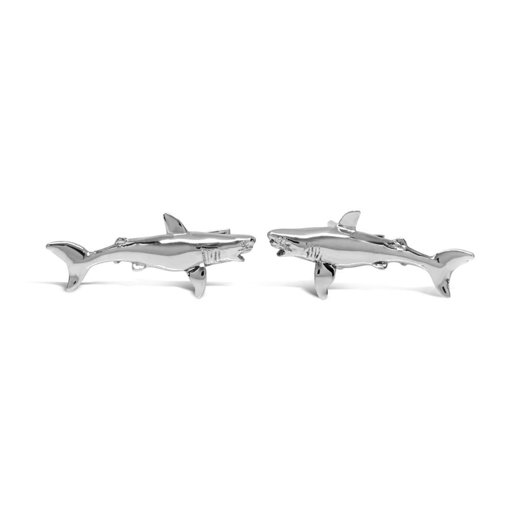 The Roaming Shark Cufflinks