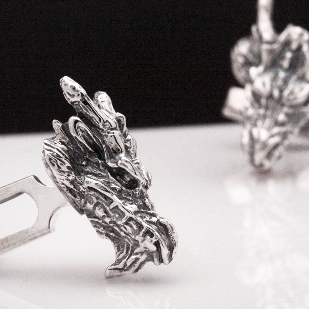 The Bearded Dragon Cufflinks