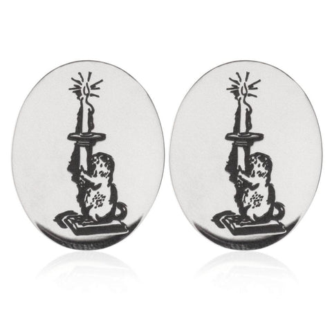 The Oval Cufflinks