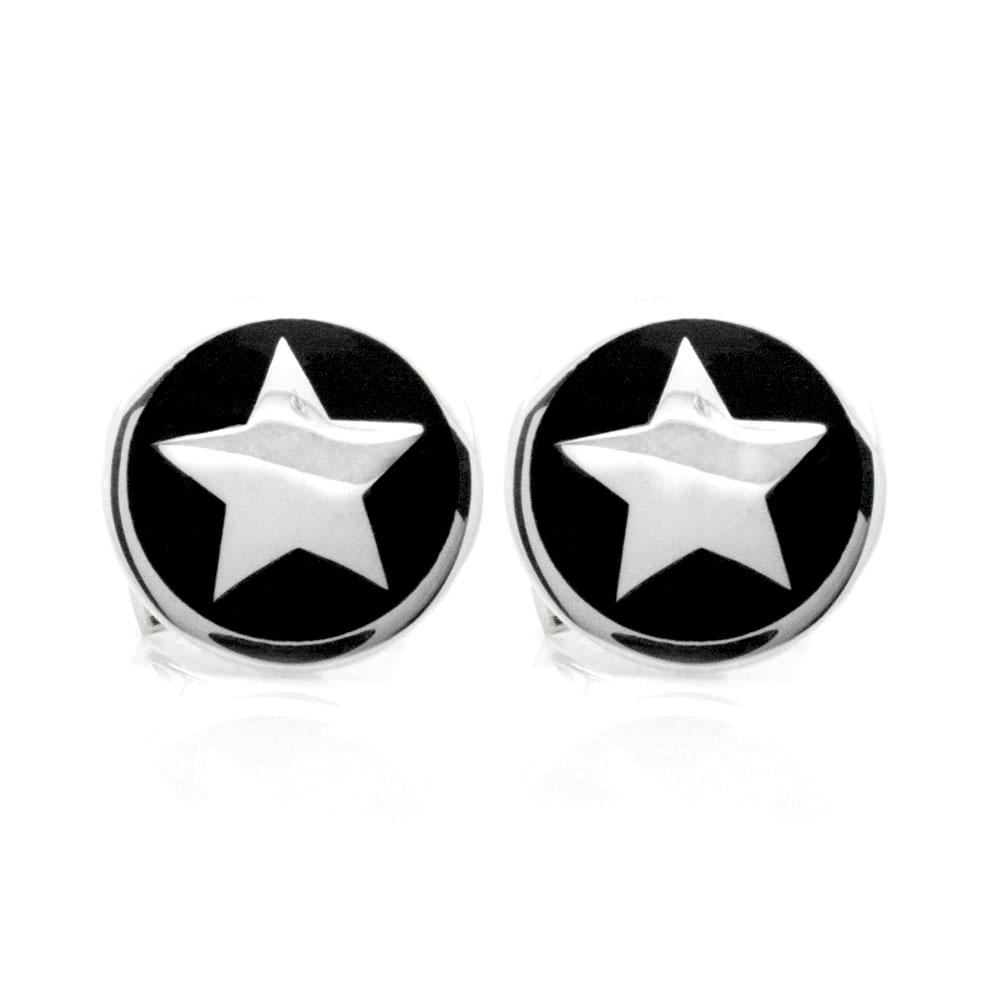 The Silver Star Cufflinks