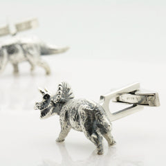 The Triceratops Cufflinks