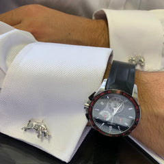 The Stock Market Cufflinks