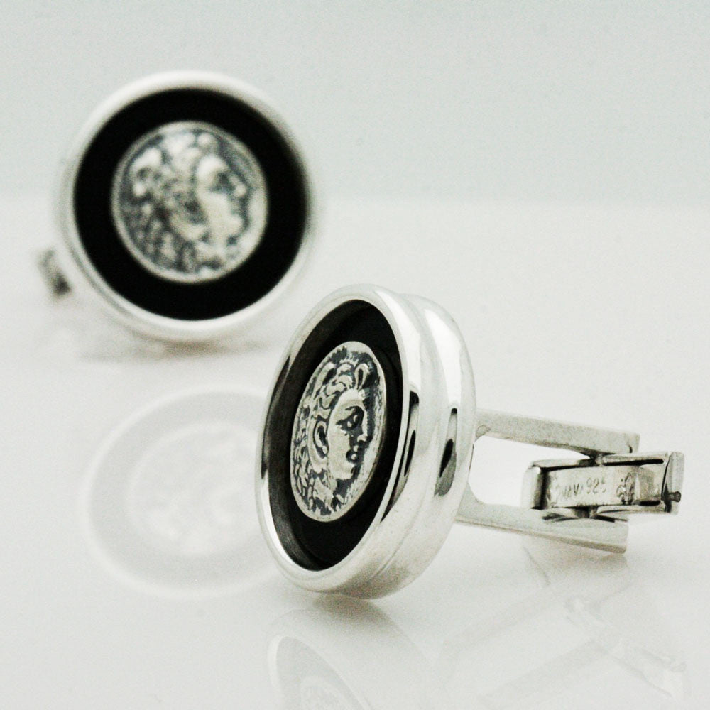 The Alexander Coin Cufflinks