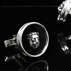 The Cerca Lion Cufflinks