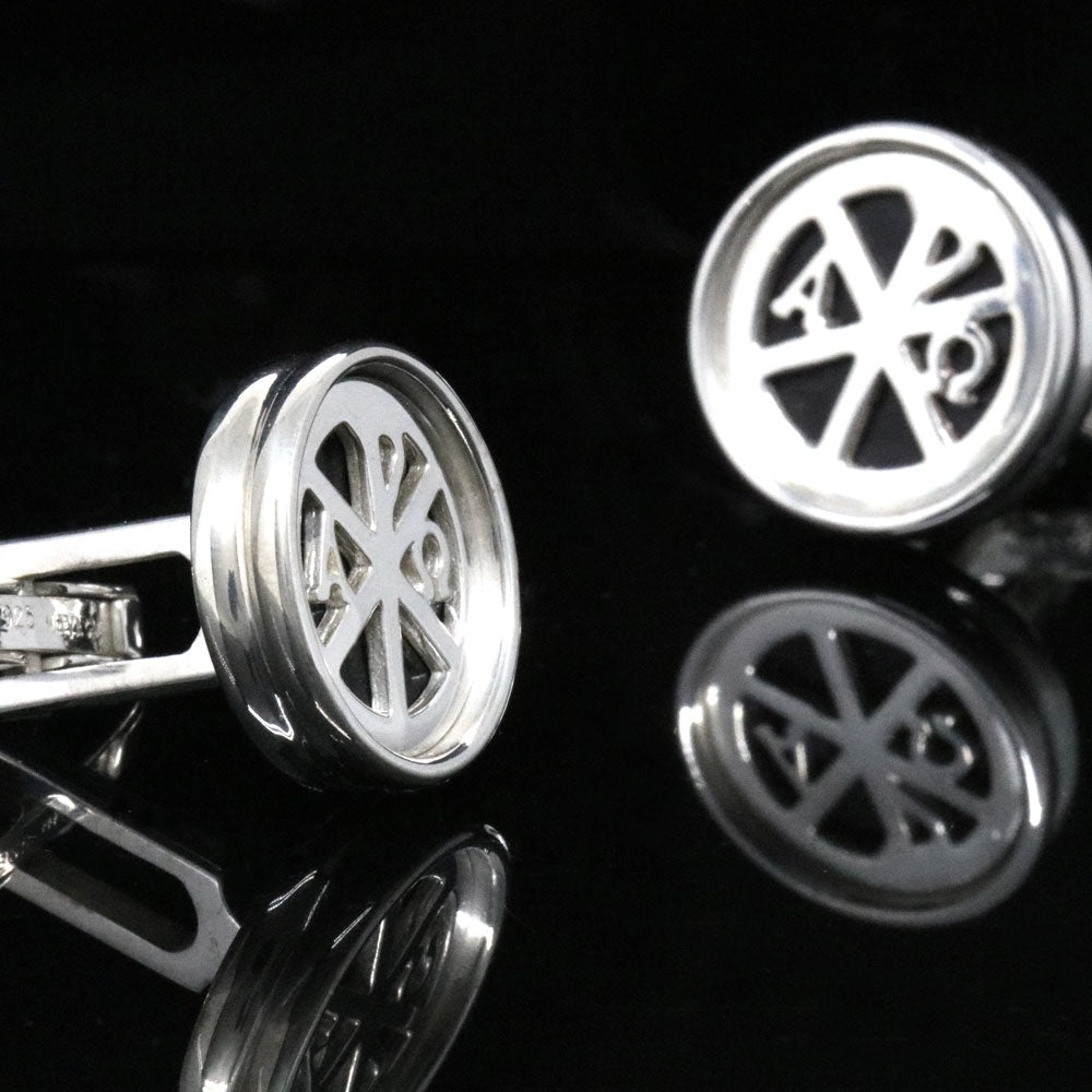The Invoking Chrismon Cufflinks