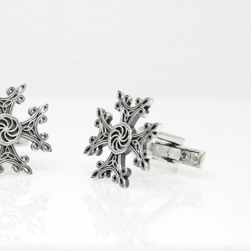 The Eternity Cross Cufflinks