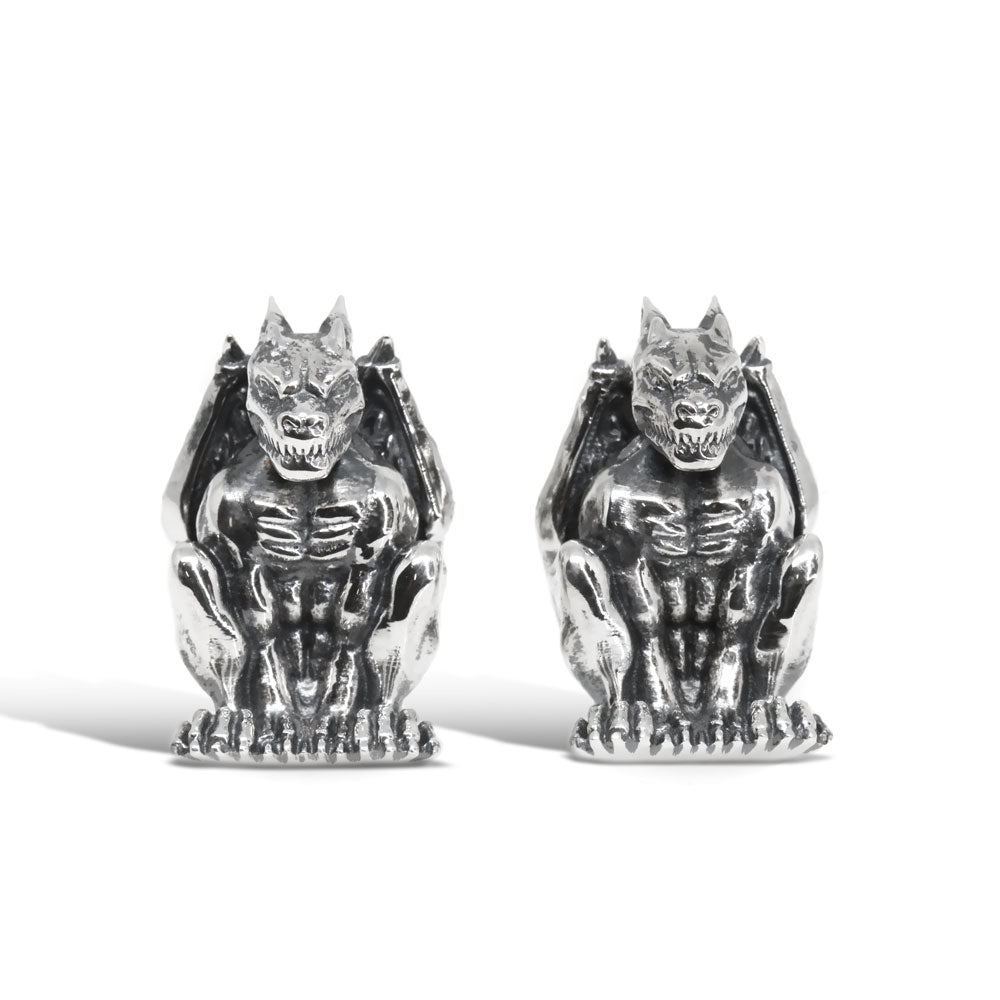The Perched Gargoyle Cufflinks