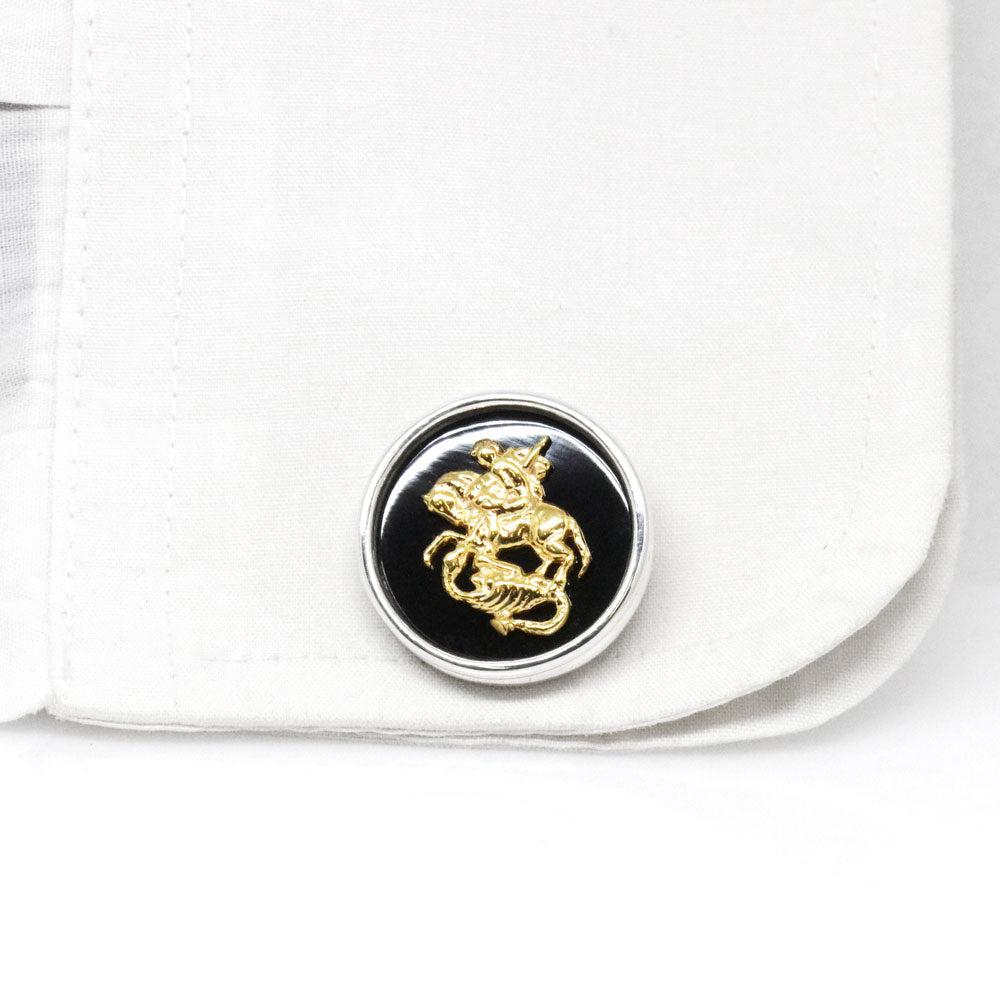 The Saint George Cufflinks