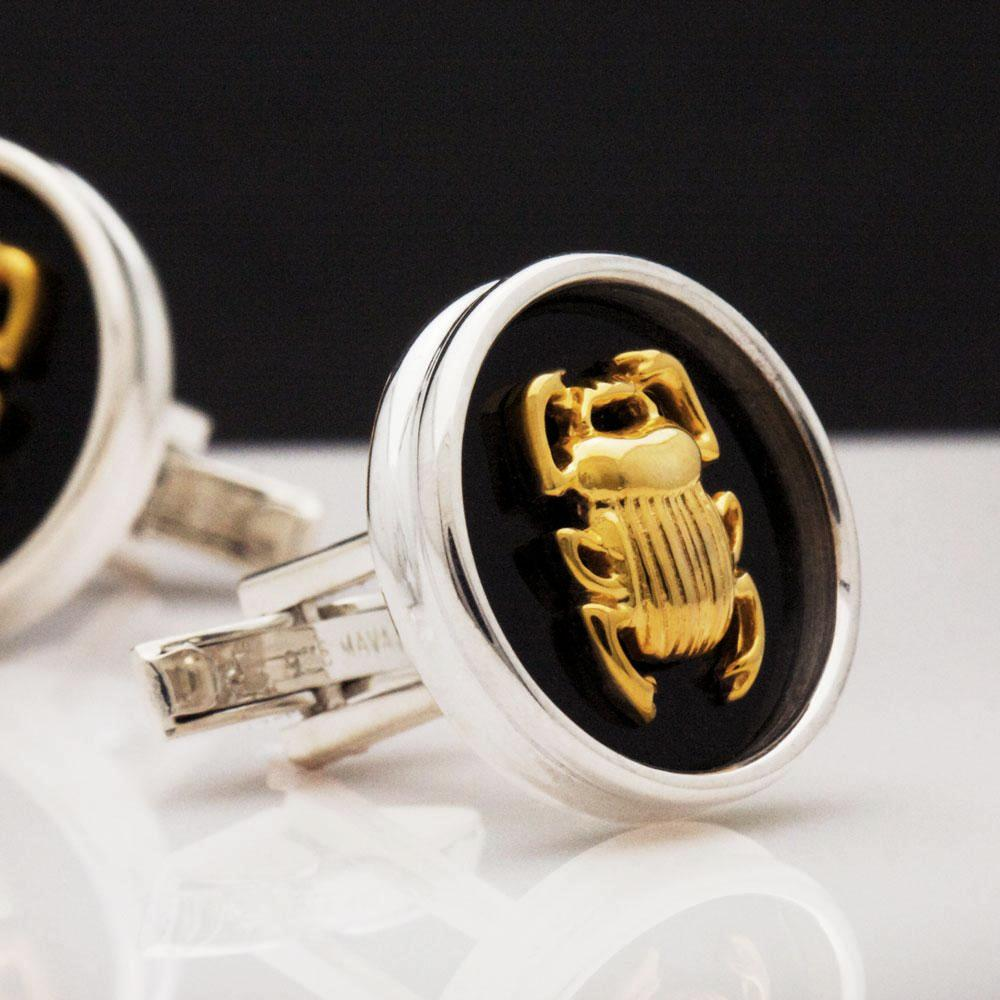 The Ancient Scarab Cufflinks
