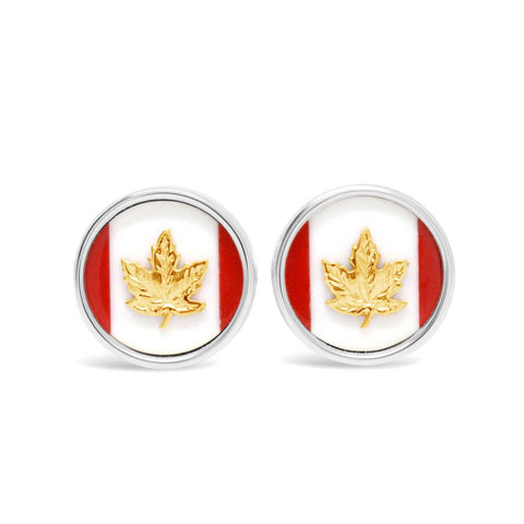 The Maple Leaf Cufflinks