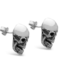 The Menacing Skull Earrings