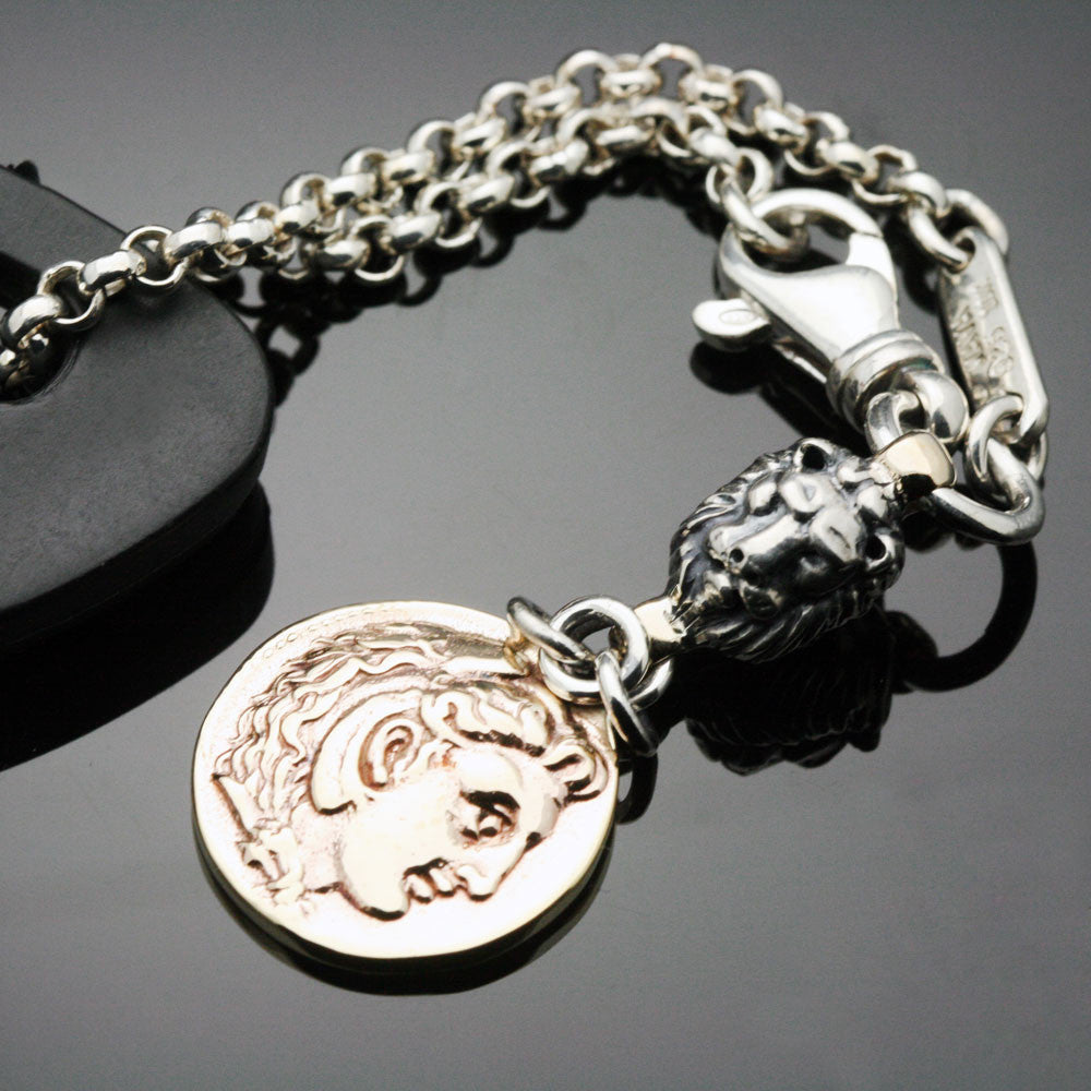 The Alexander & Lion Keychain