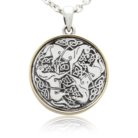 The Celtic Horse Pendant