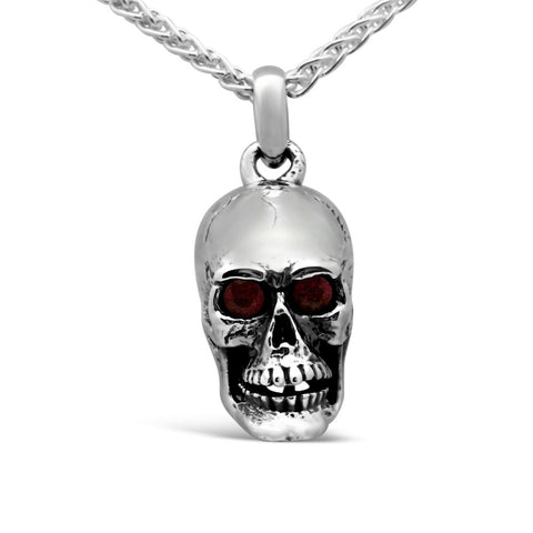 The Ruby Skull Pendant