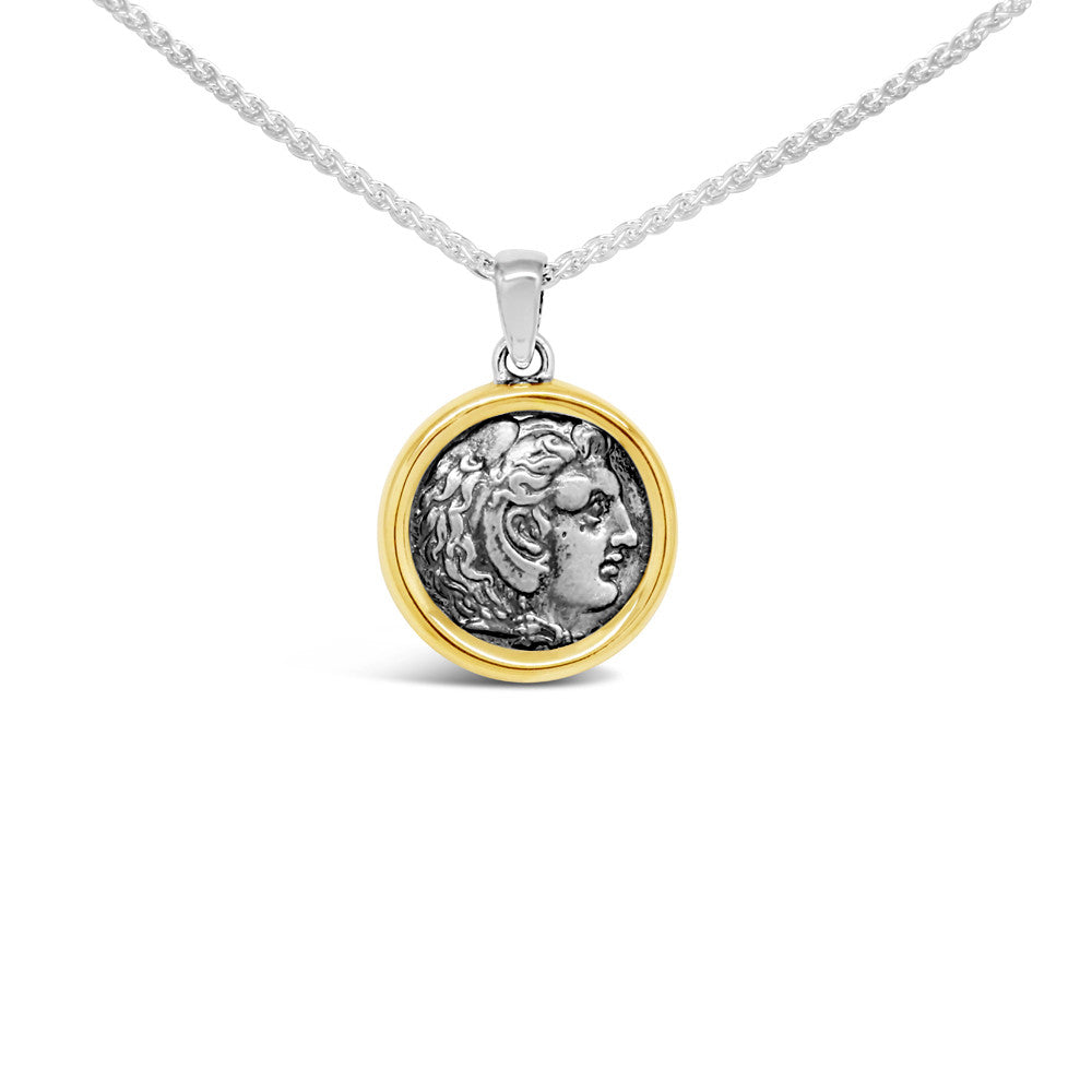 The Alexander Coin Pendant