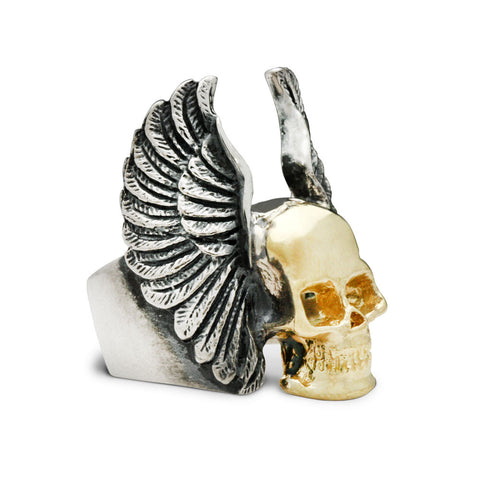 The Twofold Skull Ring