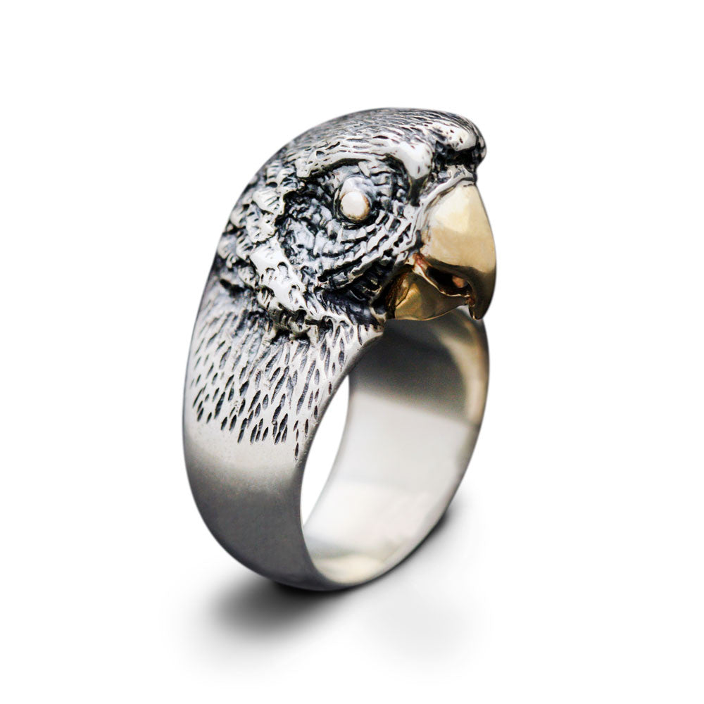 The Yellow-Billed Parrot Ring