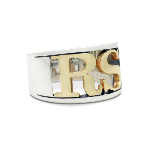 The Personalized Initials Ring