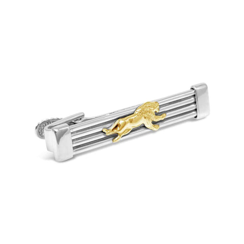 The Leaping Lion Tie Bar