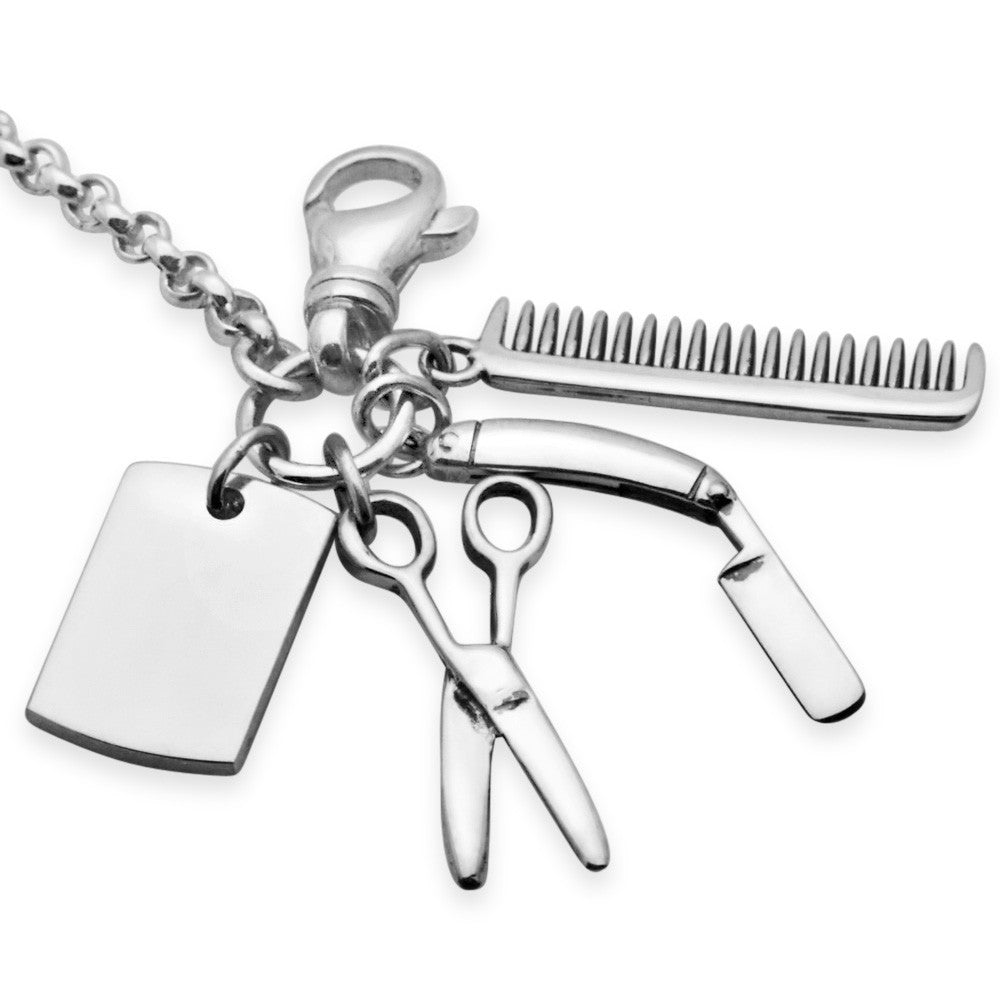The Barber's Kit Keychain