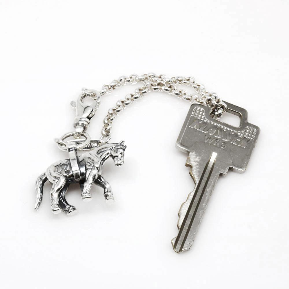 The Lucky Horse Keychain
