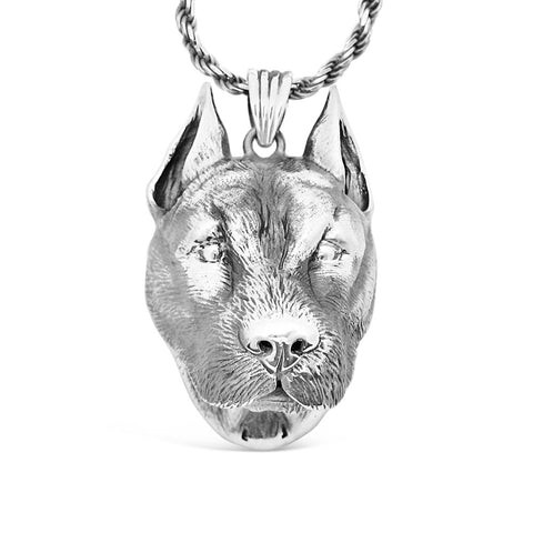 The Bold Pitbull Pendant