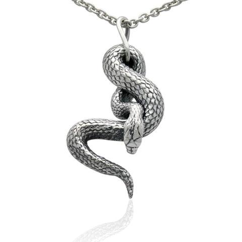 The Small Hanging Snake Pendant