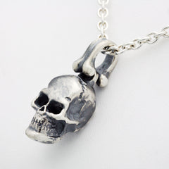 The Rugged Skull Pendant