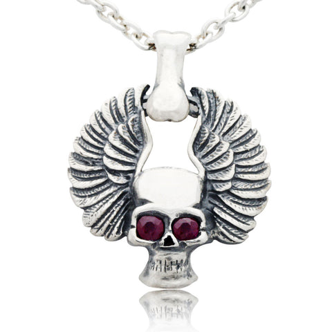 The Soaring Skull Pendant