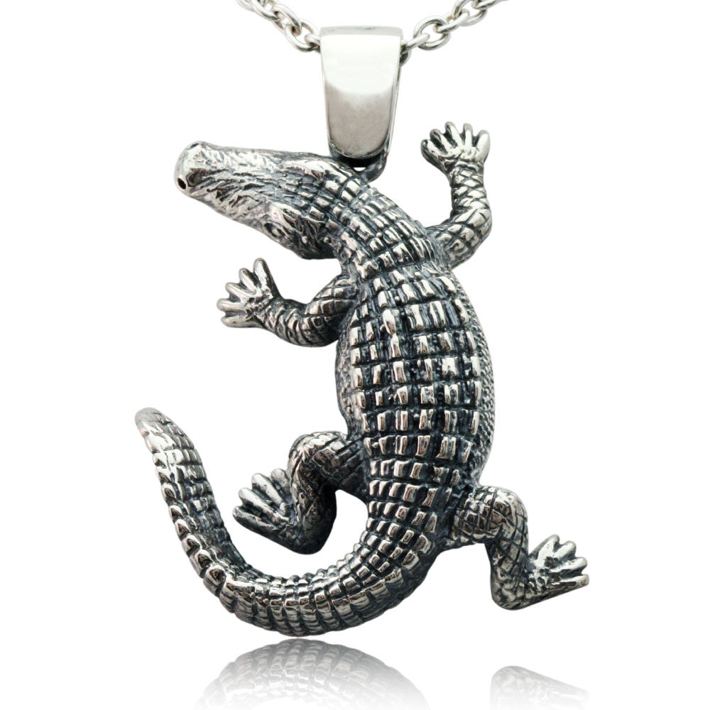 The True Crocodile Pendant