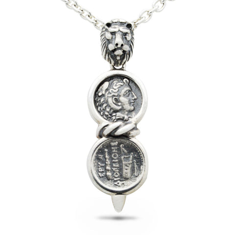 The Alexander & Lion Coin Pendant