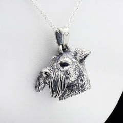 The Majestic Schnauzer Pendant