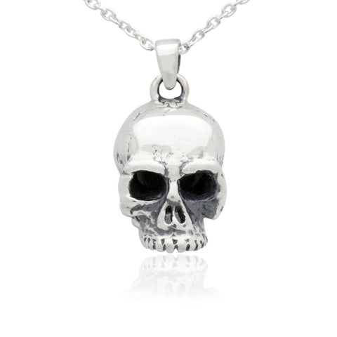 The Looming Skull Pendant