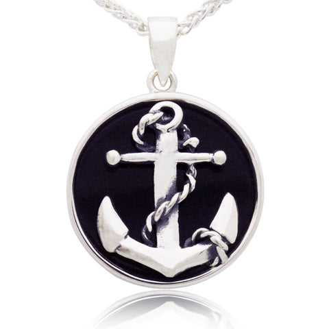 The Anchor & Rope Pendant