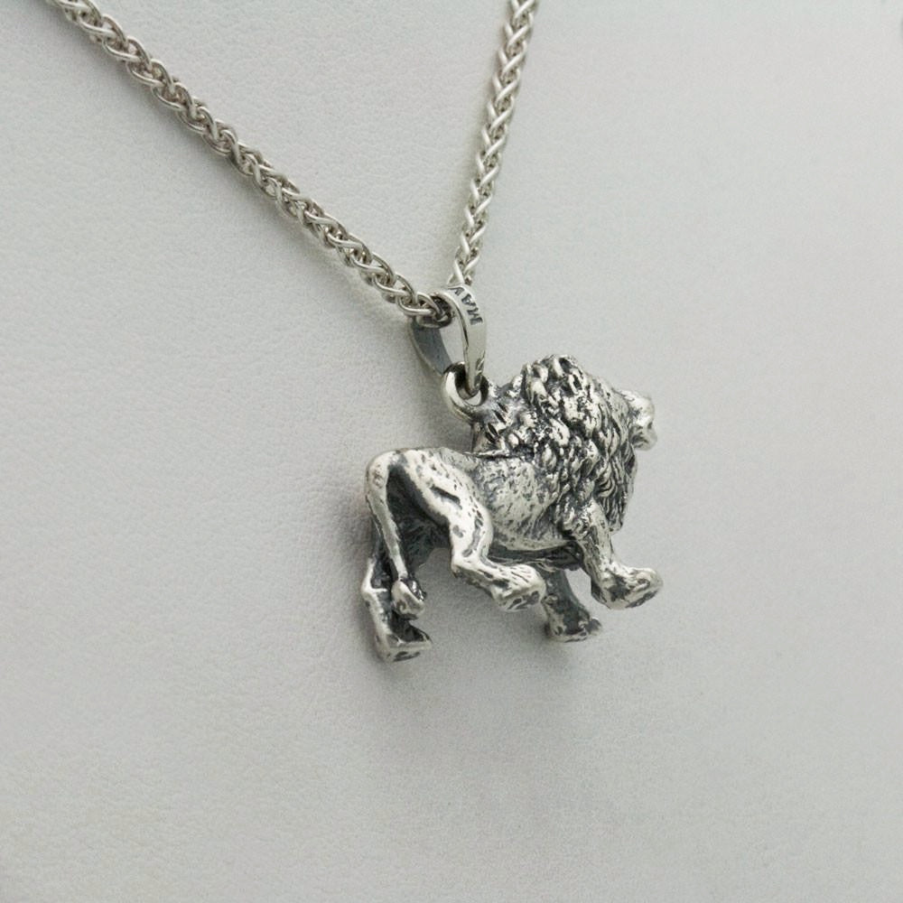 The Observant Lion Pendant
