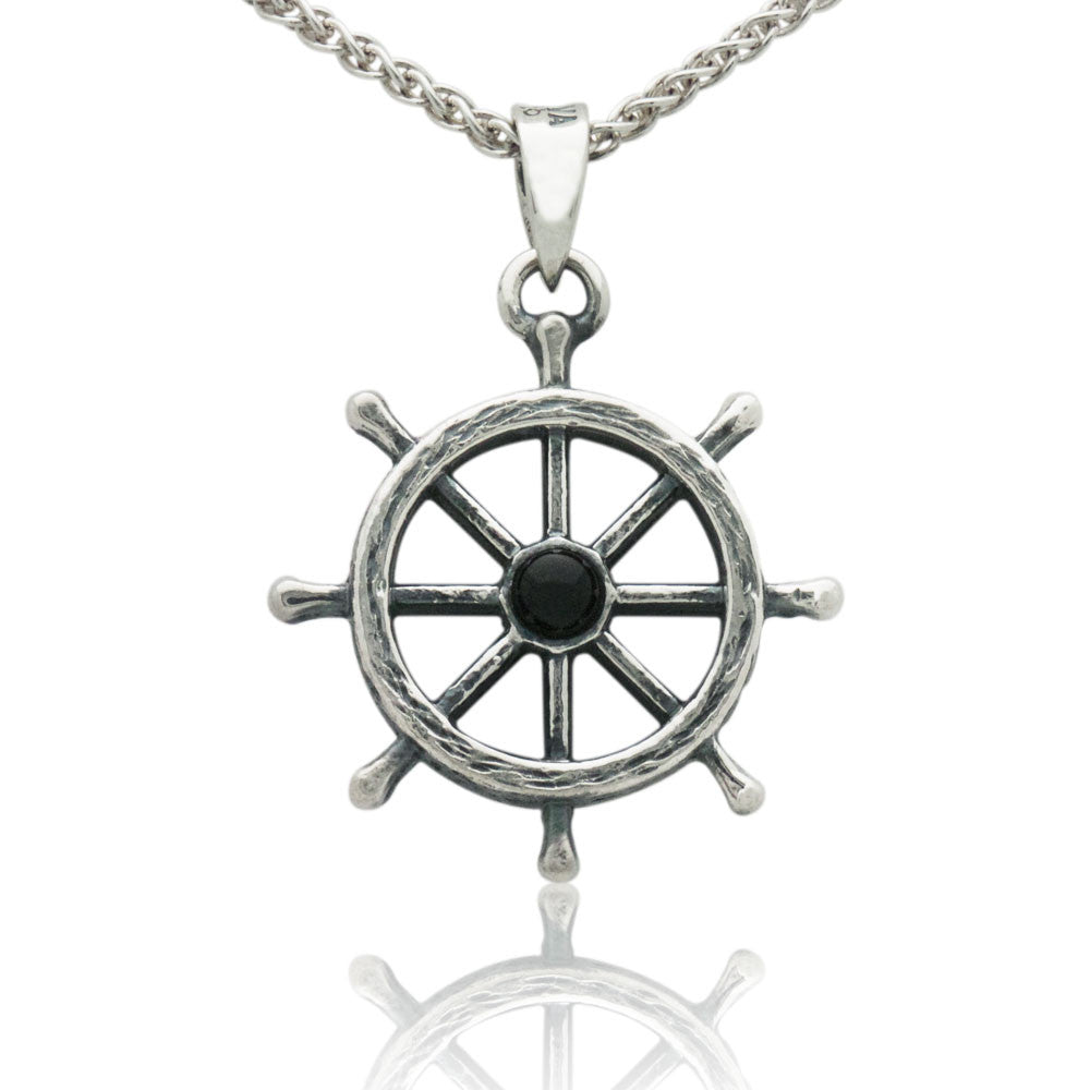 The Captain's Wheel Pendant