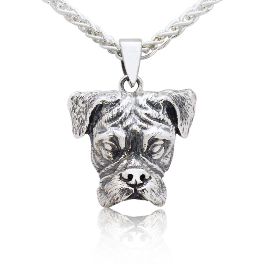 The Spirited Boxer Pendant