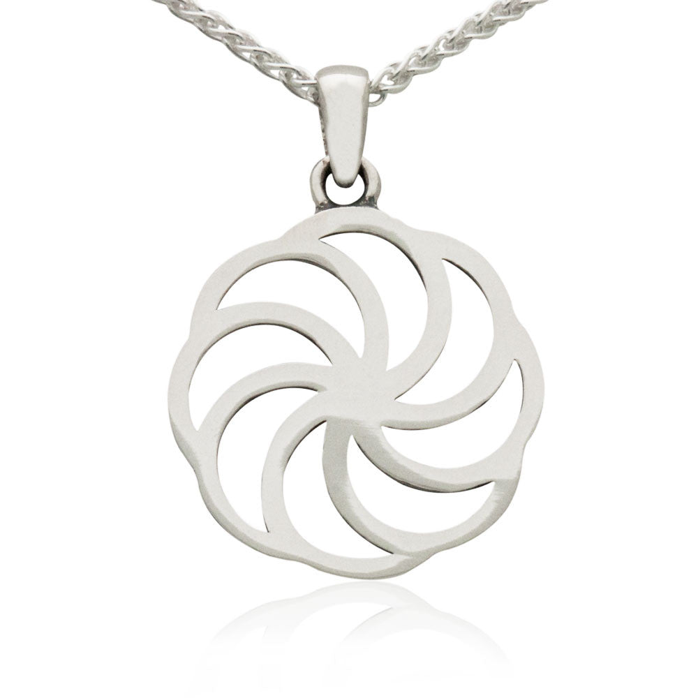The Classic Eternity Sterling Silver Pendant Mava Jewelry