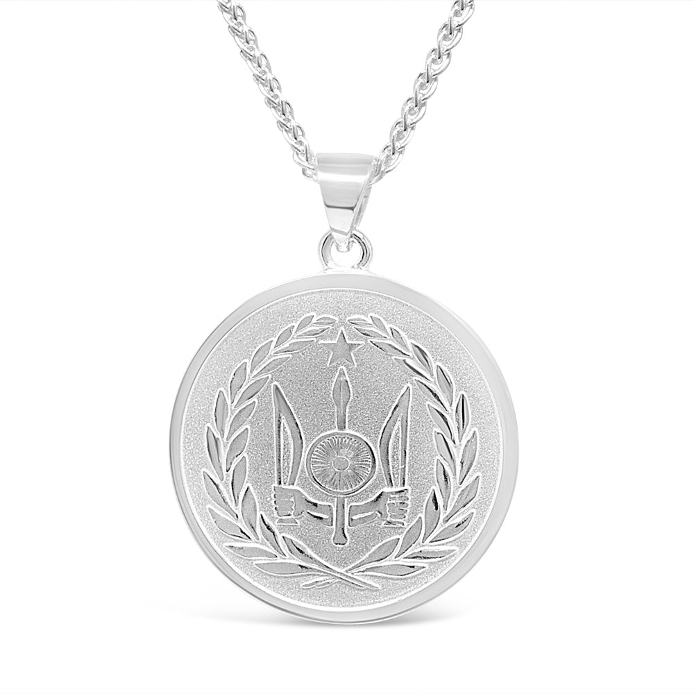 The Silver Circle Pendant