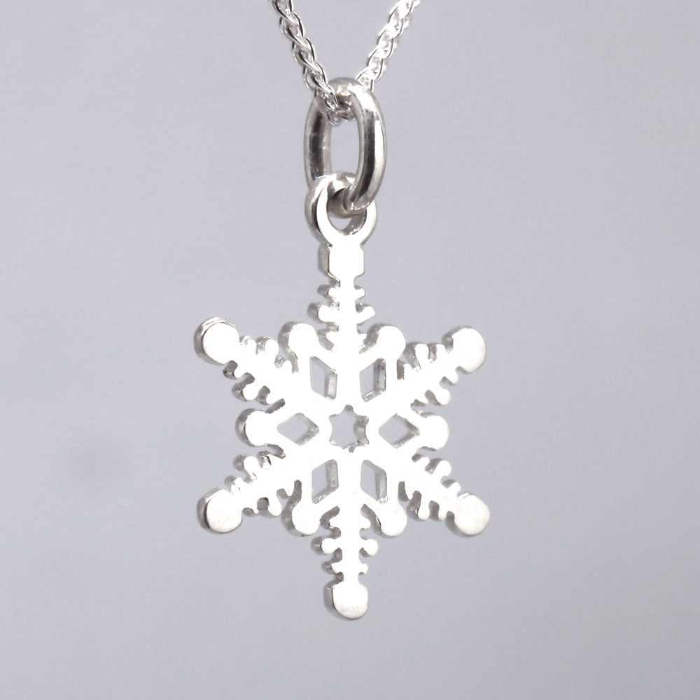 The Enchanted Snowflake Pendant